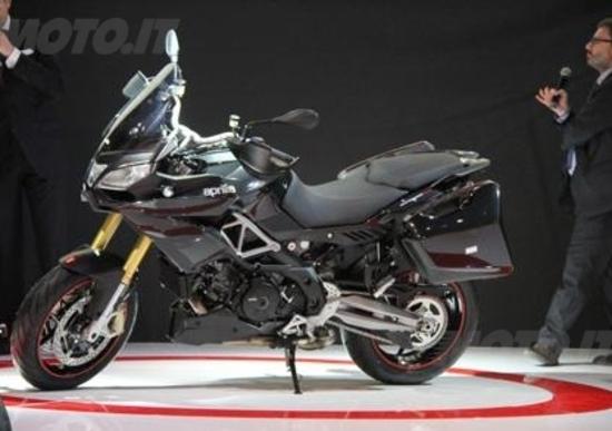 Nuove Aprilia Caponord 1200 e RSV4R ABS a EICMA 2012