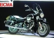 Moto Guzzi: California 1400 Custom e Touring ad EICMA 2012