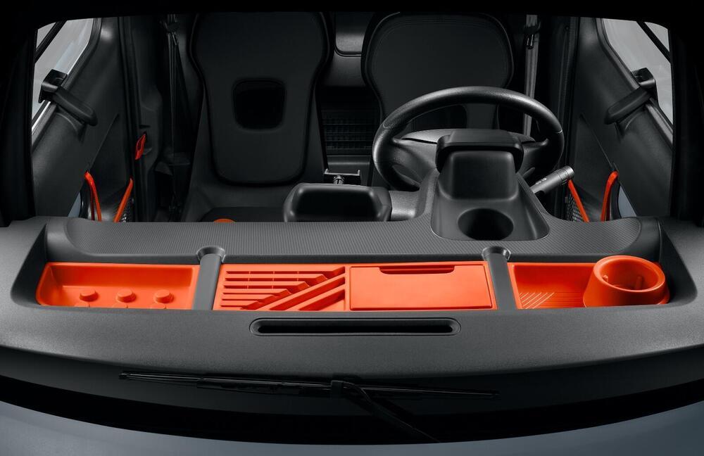 Interni frontali Citroën Ami