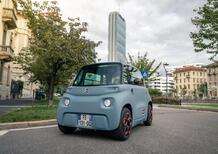 Citroen AMI, 5.430 euro: Super Mini per Smart-cities con range 75 Km [no patente]