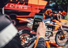 MyKTM: la App per motore e sospensioni delle SX-F 2021