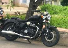 Foto spia: la Royal Enfield Cruiser 650 avvistata in India