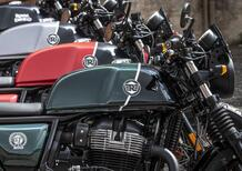 Royal Enfield Interceptor e Continental GT: limited edition da Valentino Motor Company