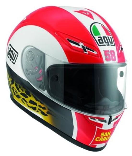 Caschi AGV Simoncelli Tribute Helmets