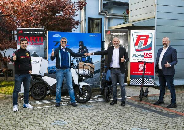 Vmoto Soco Italy Srl e Bergamaschi, partnership per la distribuzione
