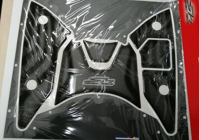 Cover pedana Honda SH 125/150 Carbon Look - Annuncio 8209328