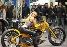 Una galleria d'arte al Motor Bike Expo 2013