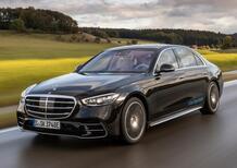 Mercedes Classe S580e | 510 CV plugin hybrid con 100 km di autonomia elettrica