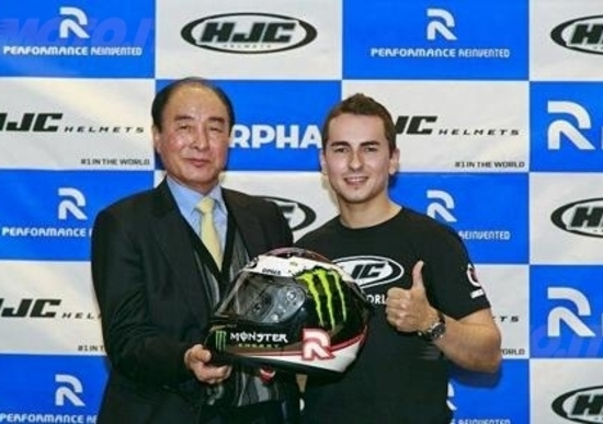 MotoGP. Jorge Lorenzo correrà con un casco HJC