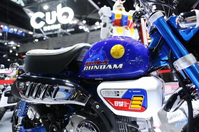 Honda ha presentato il Monkey Gundam Limited Edition