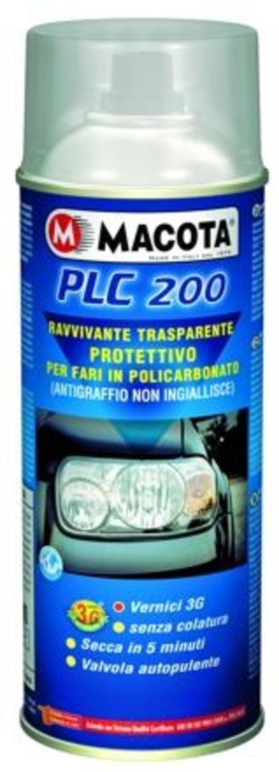 Prodotti moto: Macota Bianco Targhe e PLC200
