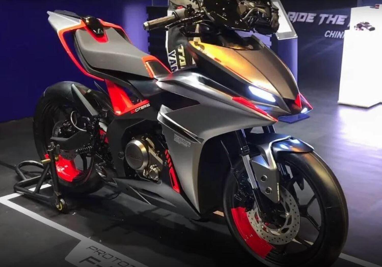 Yamaha F155 Concept. Derivato dalla YZF-R125