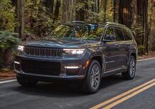 Jeep Grand Cherokee L, svelata la sette posti