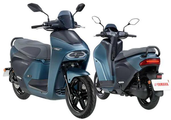 India. Yamaha pensa ad un nuovo scooter elettrico?