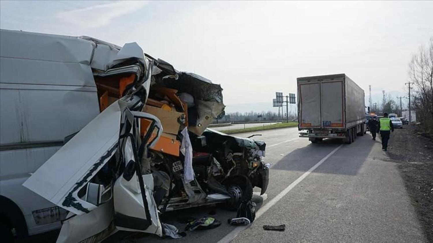 Can Oncu. Spaventoso incidente, ma solo poche ferite