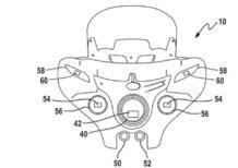 Indian, un brevetto per fari cornering (e radar)