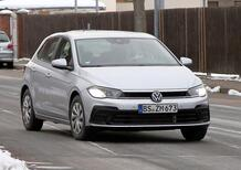 Volkswagen Polo restyling, le foto spia