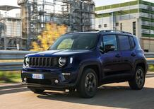 Jeep Renegade, arriva la 80th Anniversary