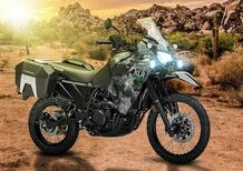 Nuova Kawasaki KLR 650 Adventure 2021. Per gli USA