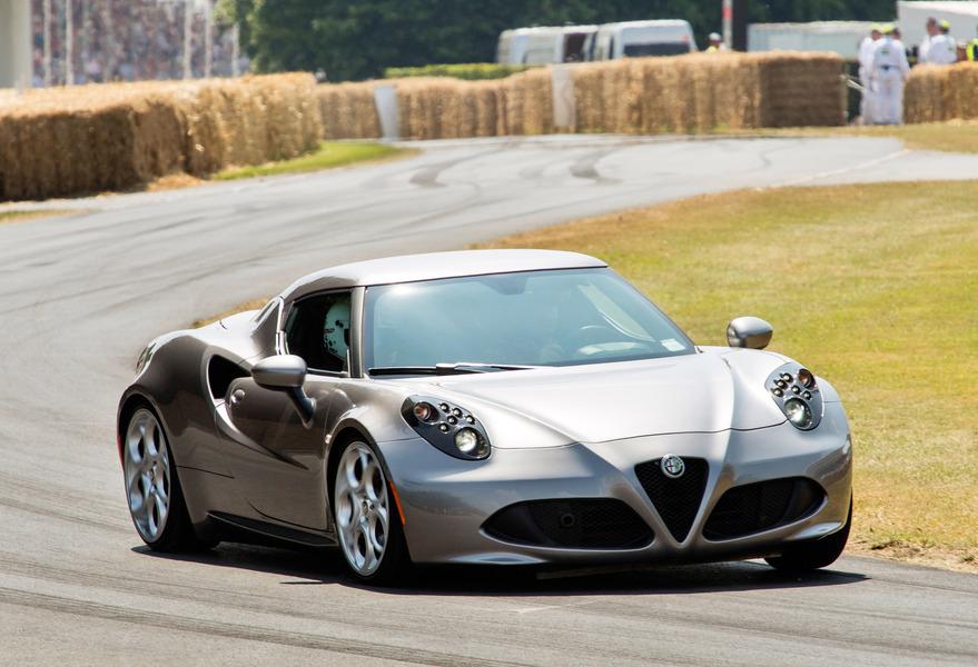 Alfa Romeo 4C (2013->>)