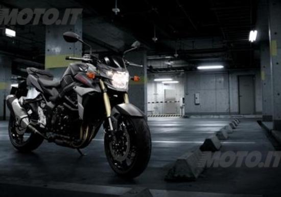 Nuova colorazione Black Mat per la Suzuki GSR 750