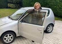 Automobilista 93enne non paga l'assicurazione della Fiat 600: omaggiata per condotta record [62 anni senza incidenti]