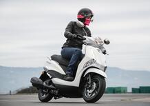 Yamaha D'elight 125: l'agilità fatta a scooter