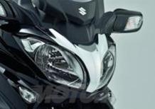 Suzuki presenta la linea accessori dedicata al Burgman 650
