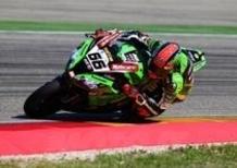 SBK GP di Aragon. Sykes è il più veloce nel secondo turno di qualifiche