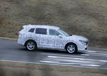 Honda CR-V, le foto spia