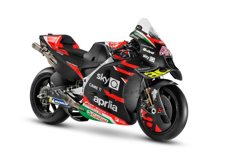 MotoGP: tutte le foto della RS-GP 2021 Aprilia Racing Team Gresini [GALLERY]