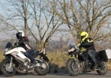 Honda Crossrunner VS Triumph Tiger 800