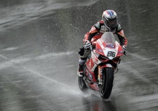 SBK. Piove sulle prove libere di Monza