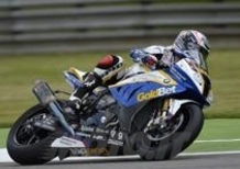 Melandri si aggiudica le prime qualifiche SBK a Monza