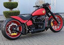 Harley-Davidson Enzo. La Ferrari Softail