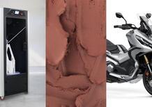 Honda R&D Europe e WASP: stampa 3D collaborativa nel design motociclistico