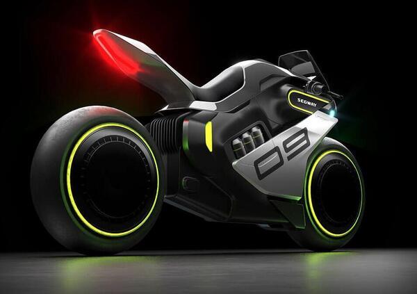 Segway Apex H2. La moto ibrida elettrica e a idrogeno