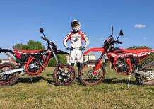 Beta 125 RR 4t Enduro e Motard TEST 2021: motore a fasatura variabile!