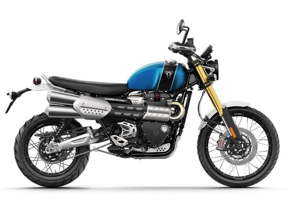 Neumotorrad: Triumph Scrambler 1200 XE, Baujahr: 2020, 14