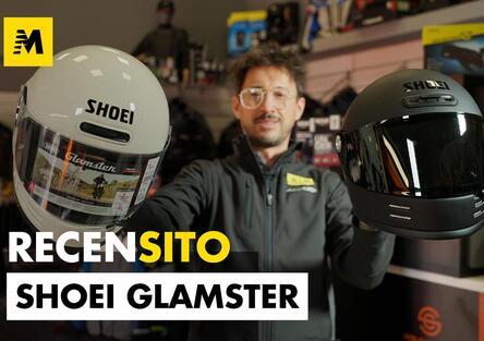 Solocaschi: recensione casco integrale Shoei Glamster