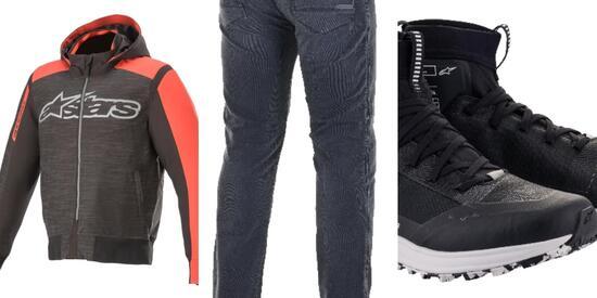 Alpinestars: 3 capi per l'outfit urbano perfetto