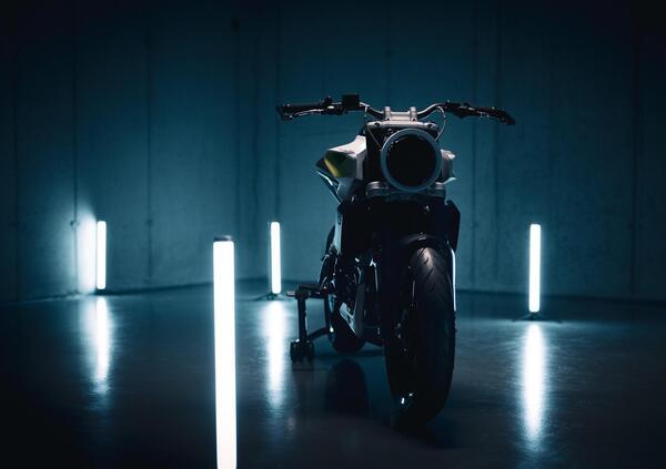 E-Pilen, la moto elettrica di Husqvarna con batterie sostituibili