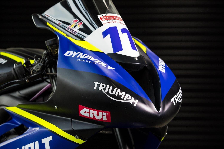 Triumph: ecco la Street Triple 765 per la Supersport