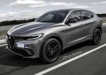 Nuovo frontale per le Alfa Romeo, Stellantis approved Stelvio 2022: le prime foto di come sarà anche Tonale