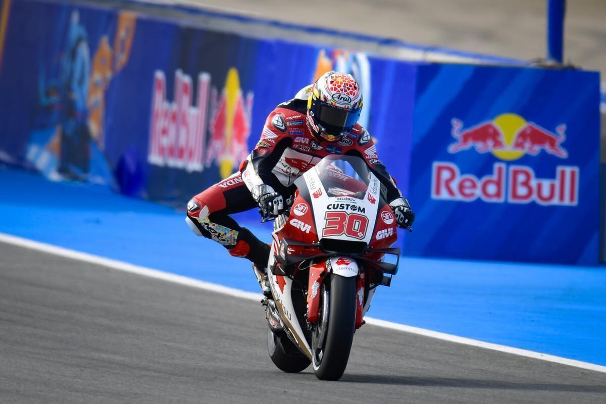 MotoGP 2021, Spanish GP in Jerez. Takaaki Nakagami is the fastest of the  FP3s - Ruetir