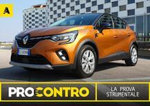 Renault Captur E-Tech ibrida plug-in, PRO e CONTRO. La prova strumentale [Video]