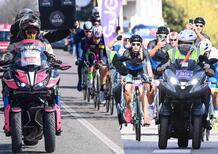 Yamaha Niken, moto ufficiale del Giro d'Italia