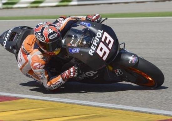 Aragon, test MotoGP: Marquez completa il lavoro