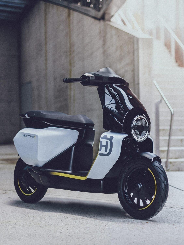 Vektorr. Ecco come sarà il primo scooter elettrico Husqvarna