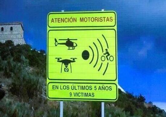 In Spagna stanno per arrivare nuovi segnali stradali per motociclisti